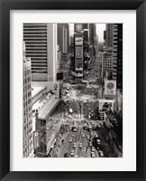 Framed Times Square Sign