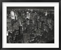 Framed Night Skyline