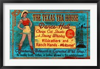 Framed Texas Tea