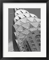 Framed Chrysler Detail