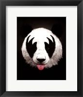 Framed Panda Rocks