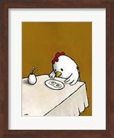 Framed I Asked for Scrambled (Chicken)