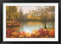 Framed Autumn Palette
