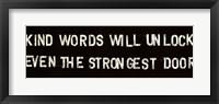 Framed Thoughtful Words II
