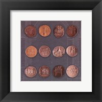 Framed Roman Coins I