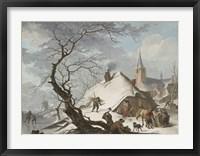 Framed Winter Scene