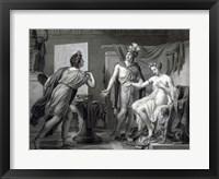 Framed Alexander Ceding Campaspe to Apelles
