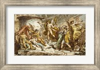 Framed Allegory on the Life of Canova