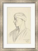 Framed Portrait of an Egyptian Fellah