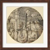 Framed Bridal Scene