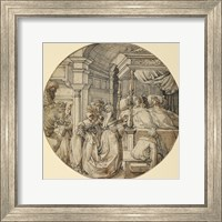 Framed Bridal Scene