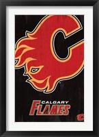 Framed Calgary Flames - Logo 13