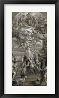 Framed Martyrdom of Saint Justina