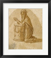 Framed Virgin Annunciate