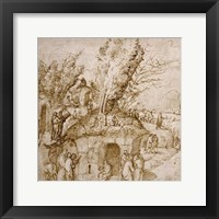 Framed Thebaid: Monks and Hermits in a Landscape