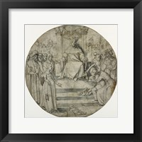 Framed Judgment of Solomon
