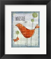 Framed Whistle Way