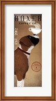Framed Boxer Coffee Co. v