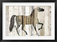 Framed Dark Horse