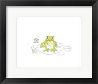 Framed Nutshell Frog
