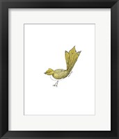 Framed Tribal Bird