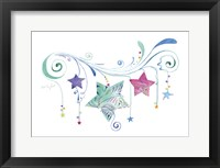 Jane Stars Framed Print