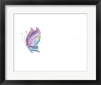 Jane Butterfly Framed Print