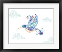 Jane Hummingbird Framed Print