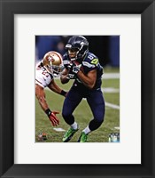 Framed Golden Tate 2013 Action