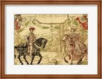 Framed Johan IV van Nassau and His Wife Maria van Loon-Heinsberg