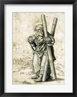 Framed Saint Andrew