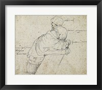 Framed Seated Woman