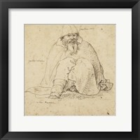 Framed Seated Man