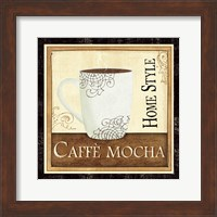 Framed Coffee and Cream IV