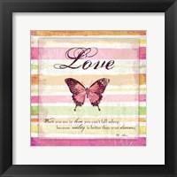 For My Heart I Framed Print