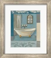 Framed Antique Bath I