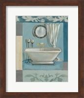 Framed Antique Bath II