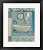 Framed Antique Bath II