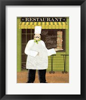 Framed Chef's Specialties II