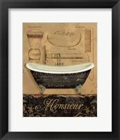 Bain de Monsieur Framed Print
