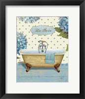 Thinking of You Bath I Framed Print