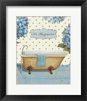 Thinking of You Bath II Framed Print
