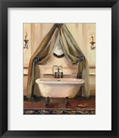 Classical Bath II Framed Print