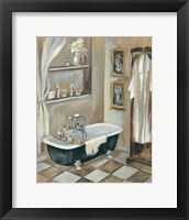 French Bath III Framed Print