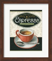 Framed Coffee Moment III