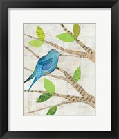 Framed Birds in Spring I