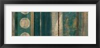 Framed Bora Blue