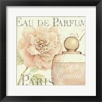 Fleurs and Parfum II Framed Print