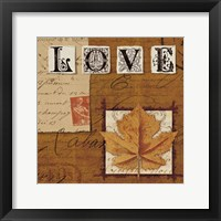 Framed Natures Journal - Love
