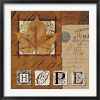 Framed Natures Journal - Hope